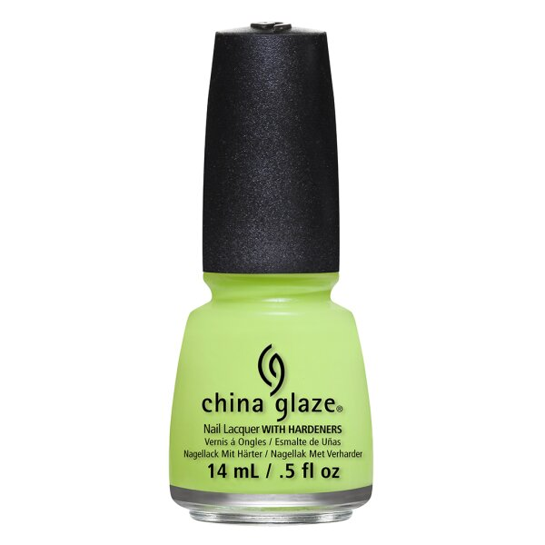 China Glaze Grass Is Lime Greener14ml