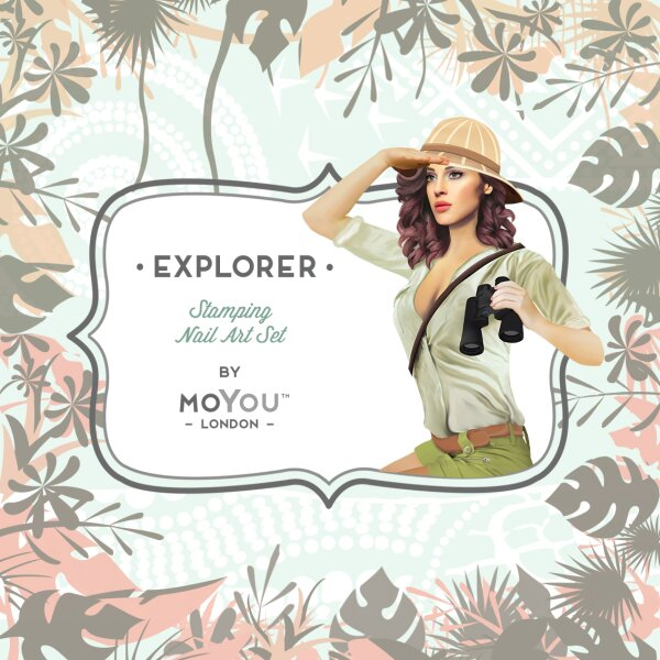 MoYou London Schablone - Explorer 05 - 136