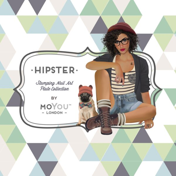 MoYou London Schablone - Hipster 01 - 6