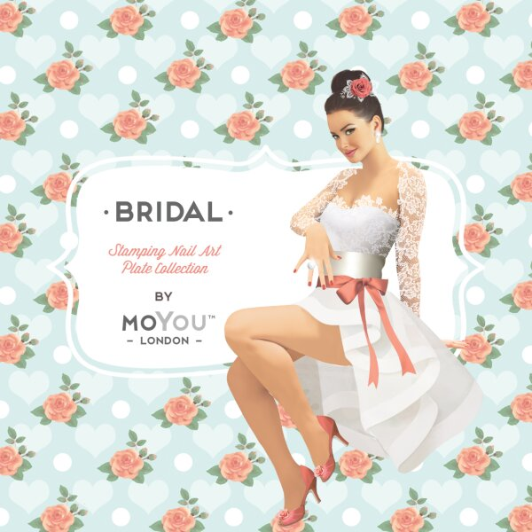 MoYou London Schablone - Bridal 04 - 130