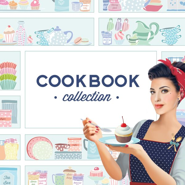 MoYou London Schablone - Cook Book 02 - 80